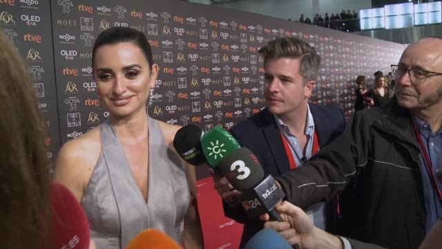 xxxx attends the Goya Cinema Awards 2019 during the 33rd edition of the Goya Cinema Awards at Palacio de Congresos y Exposiciones FIBES on February 2...
