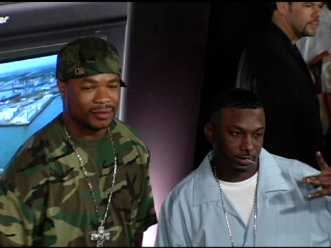 xzibit at the pioneer electronics launch of their automotive navigation system at montmartre lounge in hollywood, california on april 21, 2005. - xzibit点の映像素材/bロール