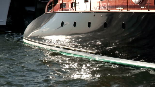 yacht 1 - hd 1080/60i - yacht stock videos and b-roll footage