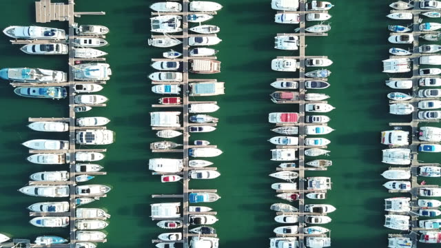 yacht in marina - calvi stock videos and b-roll footage