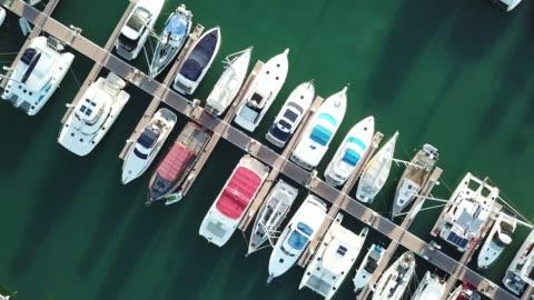 vídeos y material grabado en eventos de stock de yacht marina - miami