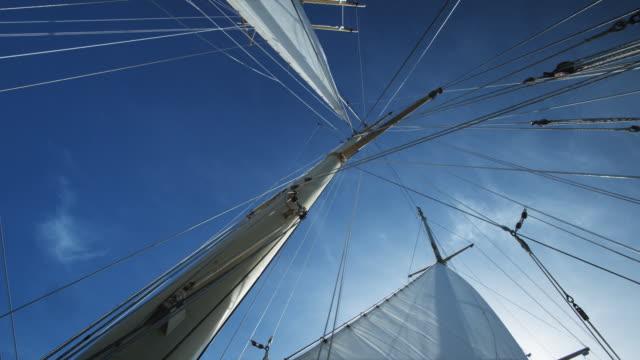 vídeos de stock, filmes e b-roll de yacht mast - territórios ultramarinos franceses