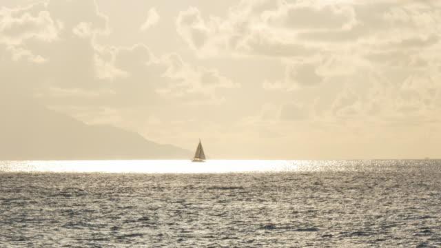 Yacht on Pacific Ocean, Puerto Vallarta, Jalisco, Mexico, North America