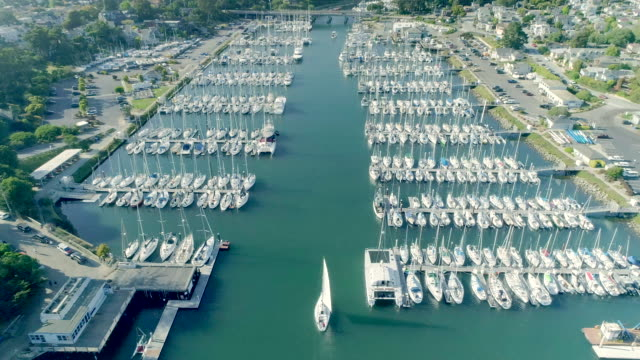 yachts - santa cruz california stock videos and b-roll footage