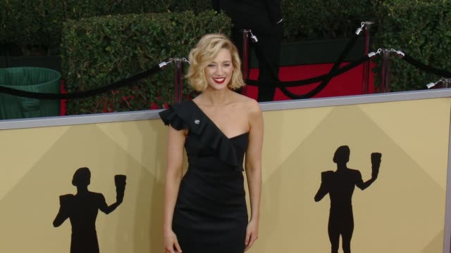 Yael Grobglas at the 24th Annual Screen Actors Guild Awards at The Shrine Auditorium on January 21 2018 in Los Angeles California