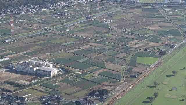 AERIAL, Yagiri District, Matsudo, Chiba, Japan