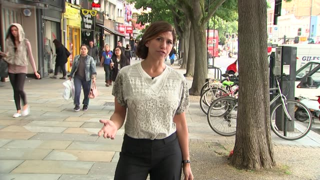 yahoo boss marissa mayer plans to work through her pregnancy england london ext reporter to camera setup shots of reporter with nicola horlick nicola... - yahoo brand name stock videos & royalty-free footage