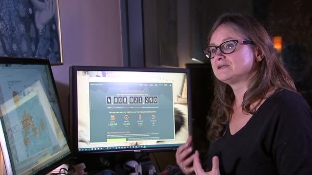 yahoo data breach kate bevan interview sot gvs yahoo search engine on laptop screen - data breach stock videos and b-roll footage