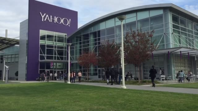 yahoo says it will review hedge fund starboard's proposed director nominees for its board - yahoo brand name stock videos & royalty-free footage