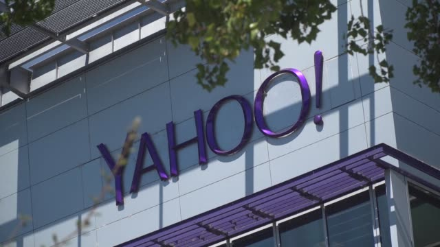 yahoo says personal data from over a billion users was stolen in a hack dating back to 2013 twice as big as another breach disclosed just three... - yahoo brand name stock videos & royalty-free footage