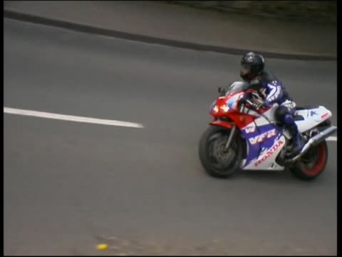yamaha r1 - obscured face stock videos and b-roll footage