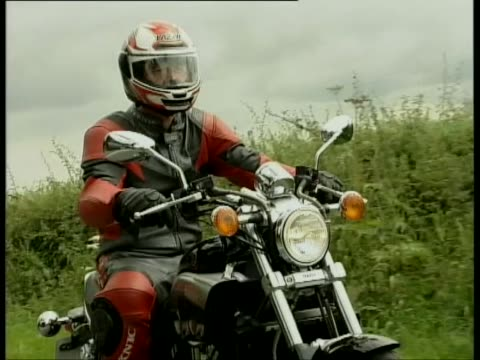 yamaha v-max - biker jacket stock videos and b-roll footage