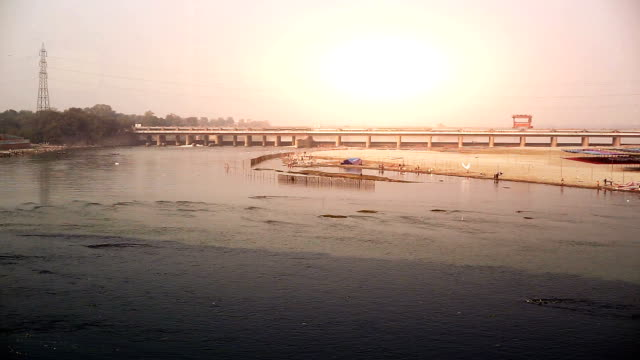 yamuna river, new delhi - hygiene stock videos & royalty-free footage