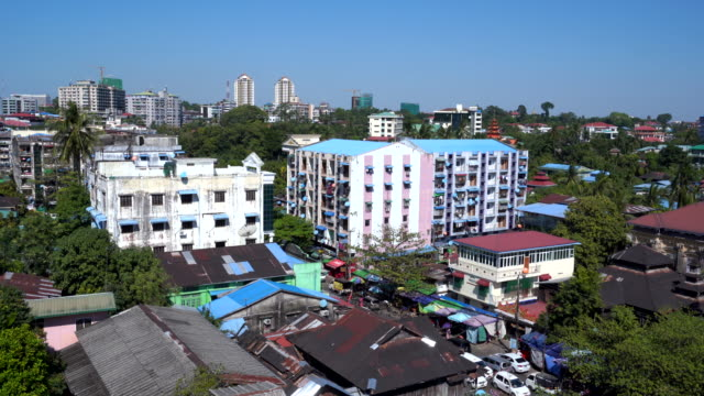 stockvideo's en b-roll-footage met stad yangon, myanmar - town hall