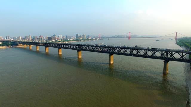 Yangtze River Bridge in wuha china