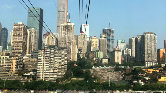 yangtze river cableway - 2010 2019 stock videos & royalty-free footage