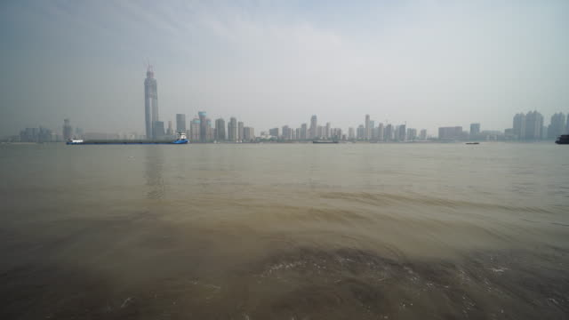 yangtze river is the longest river through china, originated from tibetan plateau and flowing into east china sea. along the golden waterway, there... - tibetan plateau stock videos & royalty-free footage