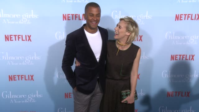 Yanic Truesdale and Liza Weil at the Premiere of Netflix's Gilmore Girls A Year In The Life at Regency Bruin Theater on November 18 2016 in Westwood...