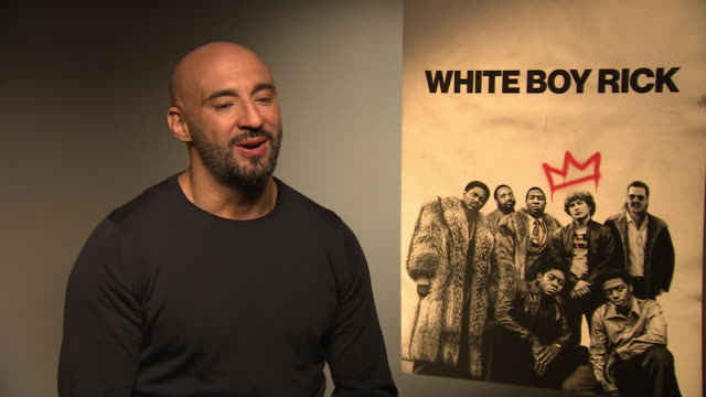 yann demange on rumours that drake will make a cameo appearance in 'topboy 3', working with kano at 'white boy rick' interviews at corinthia hotel... - cameo brooch stock videos & royalty-free footage