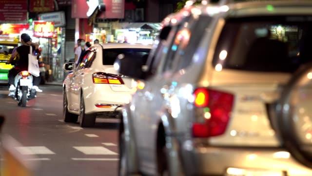 yaowarat bangkok (chinatown bangkok) - bangkok stock videos & royalty-free footage