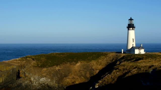 Yaquina Head Lighthouse in Oregon USA