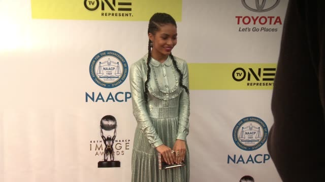 Yara Shahidi at 48th NAACP Image Awards at Pasadena Civic Auditorium on February 11 2017 in Pasadena California