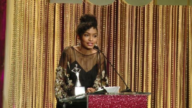 SPEECH Yara Shahidi at ESSENCE Presents 10th Anniversary Black Women in Hollywood Awards Gala in Los Angeles CA
