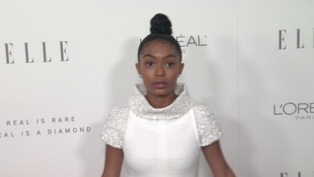 Yara Shahidi at the 24th Annual ELLE Women In Hollywood Awards on October 16 2017 in Los Angeles California