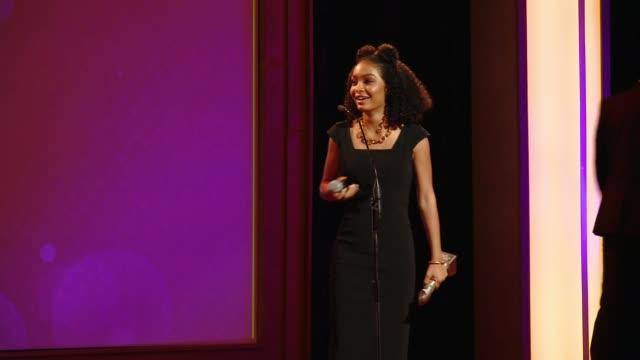 SPEECH Yara Shahidi at The 41st Annual Gracie Awards in Los Angeles CA