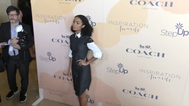 Yara Shahidi at The Step Up 14th Annual Inspiration Awards at The Beverly Hilton Hotel on June 02 2017 in Beverly Hills California