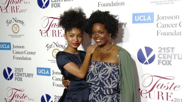 """Yara Shahidi Keri Shahidi at UCLA Jonsson Cancer Center Foundation Hosts 22nd Annual """"Taste for a Cure"""" Event Honoring Yael and Scooter Braun in Los..."""