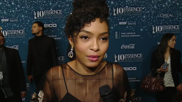 INTERVIEW Yara Shahidi on what makes it the place to be each year who they're rooting for and stand out performances at ESSENCE Presents 10th...