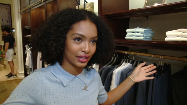 INTERVIEW Yara Shahidi on why she wanted to support Camp Brooks Brothers what she loves about the Brooks Brothers brand talks about her favorite...