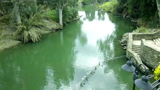 yardenit - river jordan - pilgrimage stock videos & royalty-free footage
