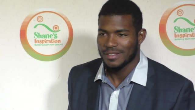Yasiel Puig at The Shane's Inspiration 'A Night In Old Havana' Gala at Taglyan Complex on March 04 2017 in Los Angeles California