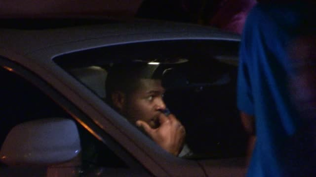 Yasiel Puig departs from Greystone Manorin West Hollywood on March 23 2014 in Los Angeles California