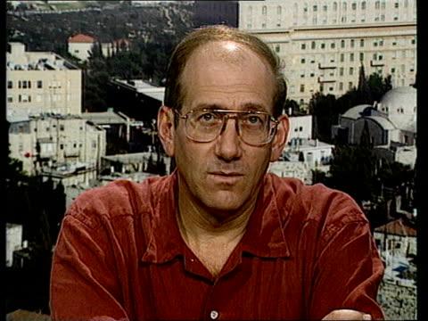 yasser arafat returns to gaza gaza gaza city/ jerusalem cms ehud olmert intvw sot inevitable step in agreement between israel and plo/ that part was... - palestine liberation organisation stock videos & royalty-free footage