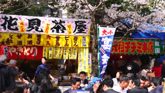 Yatai is Japanese traditional street food vendor which open restaurant for during the SAKURA Hanami is the Japanese traditional custom enjoying...