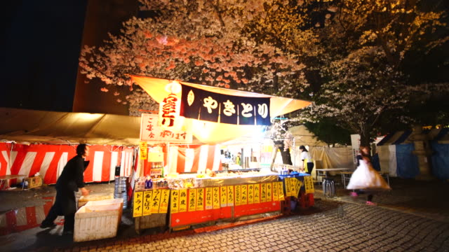 Yatai is Japanese traditional street food vendor which open restaurant for during the SAKURA The Imperial Shrine of Yasukuni is informally known as...