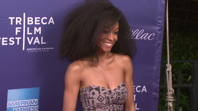 Yaya DaCosta at 2012 Tribeca Film Festival 'Whole Lotta Sole' at SVA Theater on April 21 2012 in New York New York
