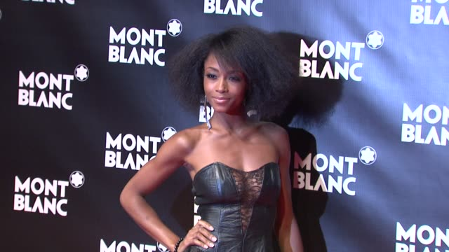 Yaya DaCosta at the Global Launch Of The Montblanc John Lennon Edition at New York NY