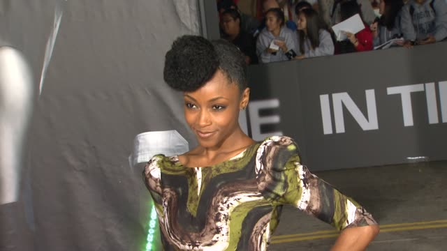 Yaya DaCosta at the 'In Time' Los Angeles Premiere at Westwood CA