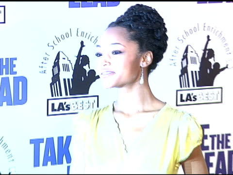 Yaya DaCosta at the 'Take the Lead' Los Angeles Screening to Benefit LA's Best at Grauman's Chinese Theatre in Hollywood California on March 23 2006