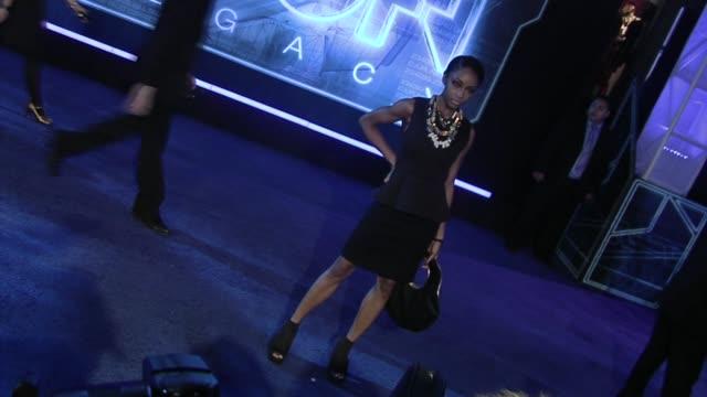 Yaya DaCosta at the 'Tron' Premiere at Hollywood CA