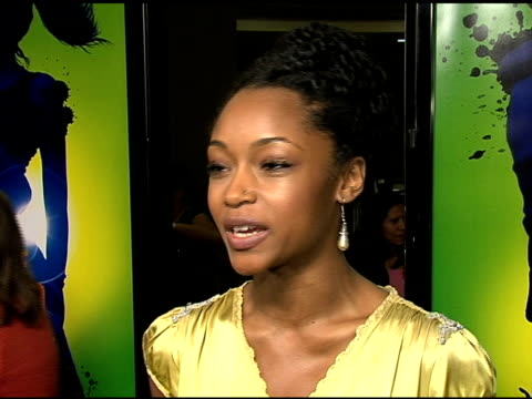 Yaya DaCosta on her character working on an inspirational film how it will influence kids LAs BEST at the 'Take the Lead' Los Angeles Screening to...