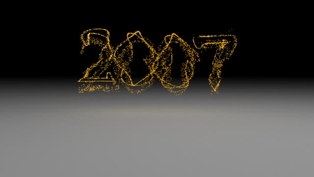 year 2007 particles - 2007 stock videos & royalty-free footage