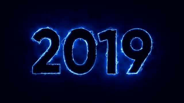 2019 年 - 年越し点の映像素材/bロール