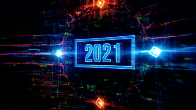2021年デジタル背景 - led点の映像素材/bロール