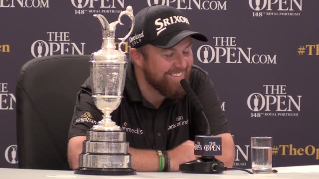 a year after being reduced to tears by the state of his game at carnoustie shane lowry claimed his first major title in commanding fashion in the... - lee majors stock videos and b-roll footage
