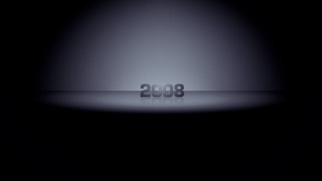 year horizon zoom 2008 - 2008 stock videos & royalty-free footage